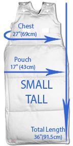 Small Tall Measurments
