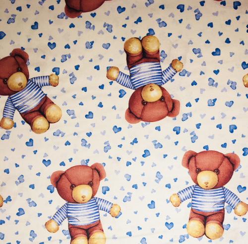 Blue Bears Print