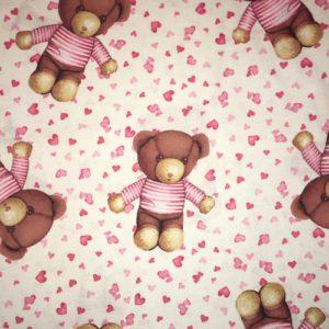 Pink Bears Print